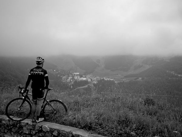 Looking out from the Aubisque (Eaux Bonnes side)