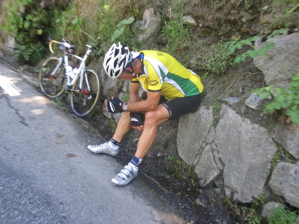 Not prepared for Etape 2010 up the Tourmalet