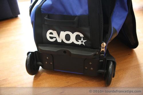 EVOC Bike Travel Bag Review: Wheels