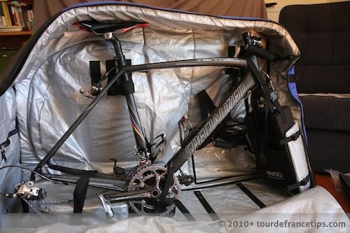 EVOC Bike Travel Bag Review: Bike in Bag