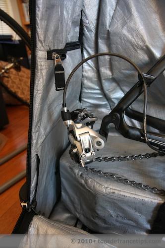 EVOC Bike Travel Bag Review: Rear D/R