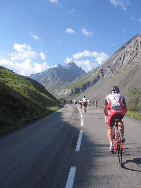 Galibier, Etape 11, still a long way to go