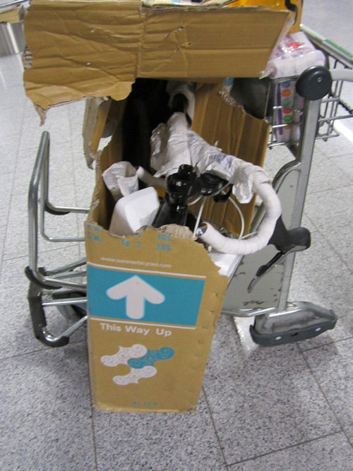 Damiens bike box