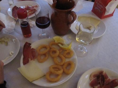 Spain dinner 1