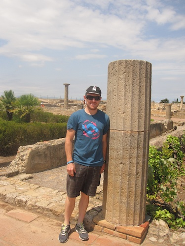 2000 year old Roman column