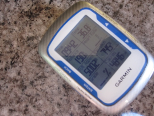 Garmin from Etape 2011: 5000m, 210km