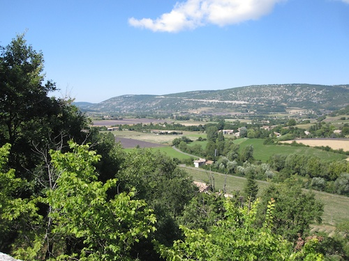 The valley toward Sault