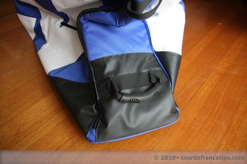 EVOC Bike Travel Bag Review: Bash material