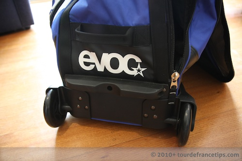EVOC Bike Travel Bag Review: Wheels