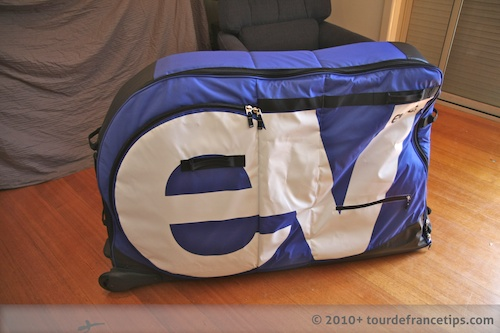 EVOC Bike Travel Bag Review: Unloaded Bag