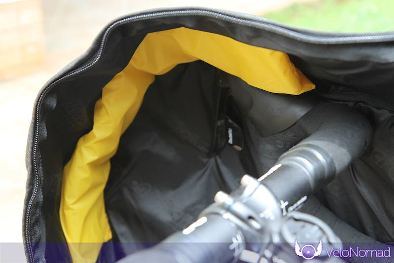 Scicon Aerocomfort 2 TSA bike bag review: handlebar pads